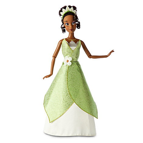 Disney Deluxe Princess & the Frog Tiana New Style Classic ...