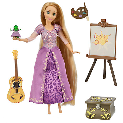 Rapunzel Deluxe Talking Doll Set - 11''