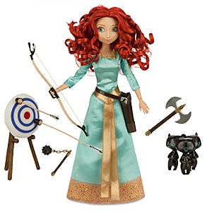 Merida Deluxe Talking Doll Set - 11''