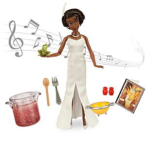 Tiana Deluxe Talking Doll Set - 11''