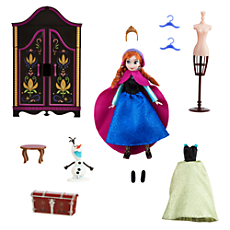 Anna Mini Doll Wardrobe Play Set - Frozen