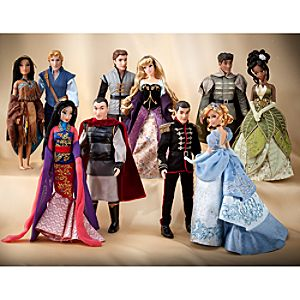 Disney Fairytale Designer Collection Doll Set - Pre-Order