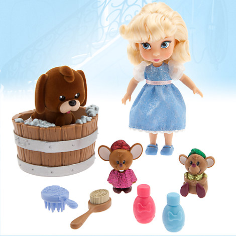 Disney Animators' Collection Cinderella Mini Doll Play Set - 5''