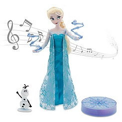 Elsa Deluxe Singing Doll Set - 11''