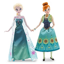 Anna and Elsa Dolls Gift Set - Frozen Fever - 12''