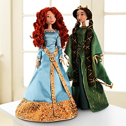 Merida and Queen Elinor Doll Set