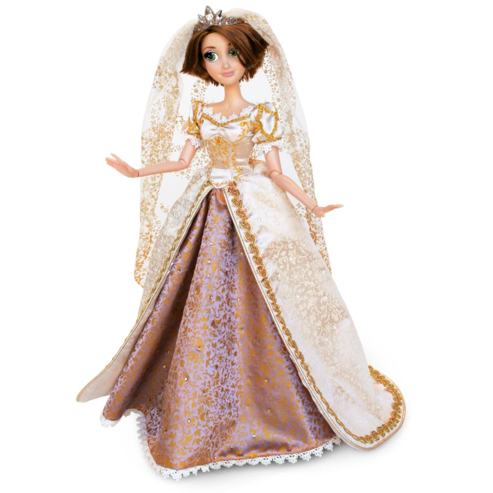 nib disney 17quot limited edition tangled ever after rapunzel