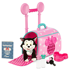 Minnie Mouse and Figaro Pet Travel Carrier Play Set