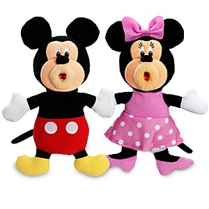 Minnie and Mickey Mouse Sing-a-ma-jigs Set -- 2-Pc.