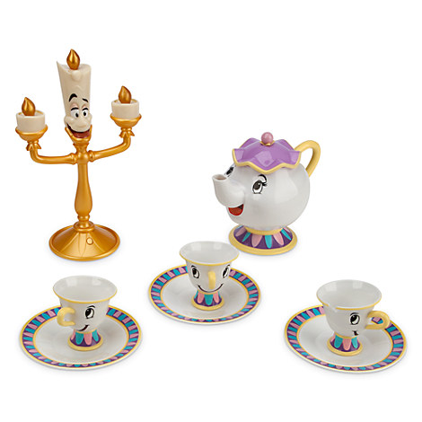 Belle Deluxe Tea Set Play Sets Amp More Disney Store