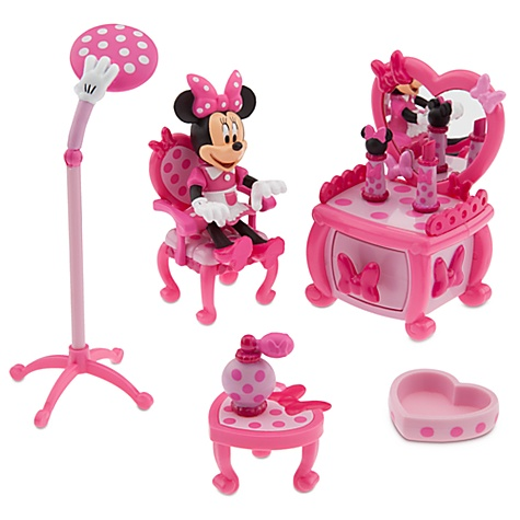 Minnie Mouse Beauty Shop Play Set -- 9-Pc.