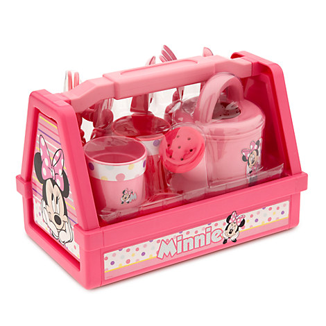 minnie mouse gardening set play sets more disney store
