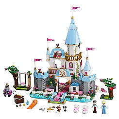Cinderella's Romantic Castle Playset by LEGO