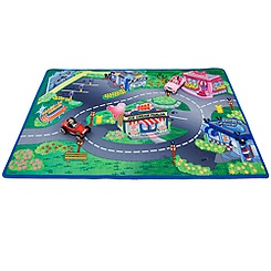 Minnie & Mickey Play Mat & Vehicles Play Set