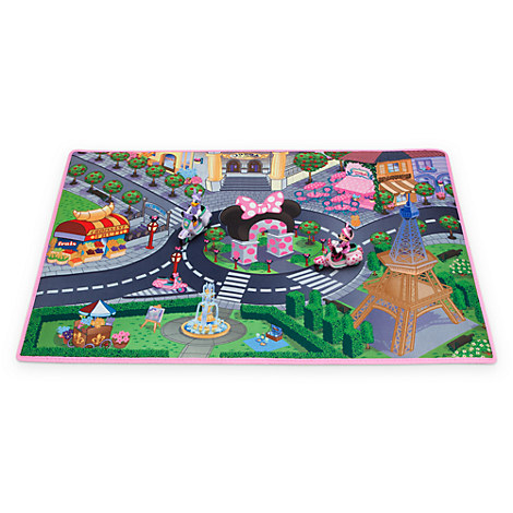 Minnie Mouse And Daisy Paris Play Mat Amp Vehicles Play Set