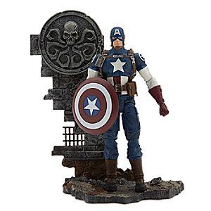 Captain America Action Figure - Marvel Select - 7''