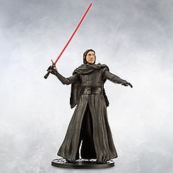 Kylo Ren Unmasked Elite Series Die Cast Figure - Star Wars: The Force Awakens
