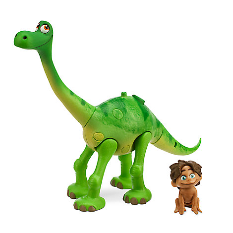 new disney store the good dinosaur arlo with spot action figure free tote ebay. Black Bedroom Furniture Sets. Home Design Ideas