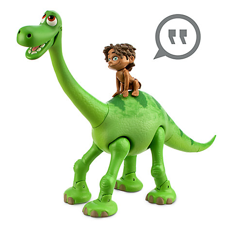 new disney store the good dinosaur arlo animated talking figure w free windup ebay. Black Bedroom Furniture Sets. Home Design Ideas