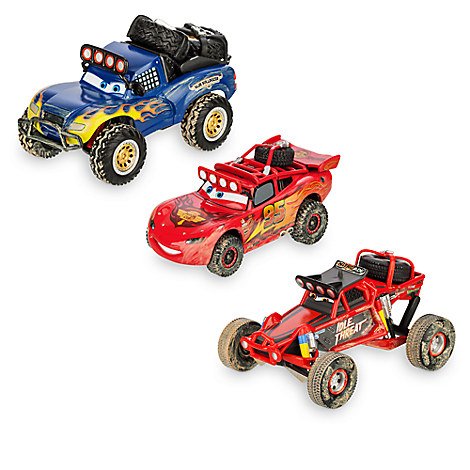Disney Cars Off Road Racin Lightning Mcqueen Toy