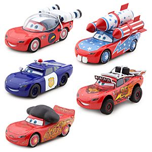 Lightning McQueen-O-Rama Die Cast Set