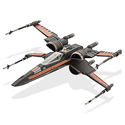Star Wars: The Force Awakens Poe's X-Wing Fighter Die Cast Vehicle