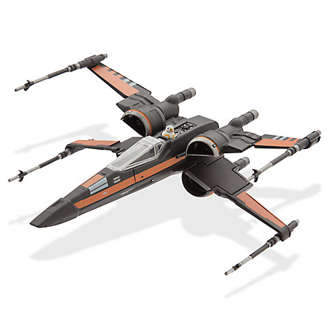 Star Wars: The Force Awakens Poe's X-Wing Fighter Die Cast ...