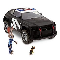 Judy Hopps' Police Cruiser Deluxe Play Set - Zootop