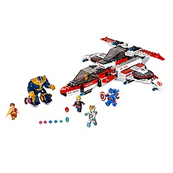 Avenjet Space Mission Playset by LEGO - Marvel Avengers