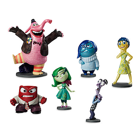 Disney Store Inside Out Figure Play Set