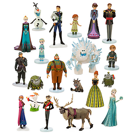 Disney Frozen Mega Figure Play Set