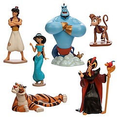 Aladdin Figure Play Set