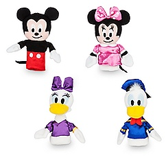 Mickey Mouse and Friends Plush Finger Puppet Set