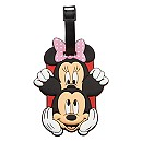 Mickey and Minnie Mouse Luggage Tag