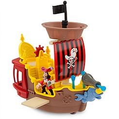 Hook's Jolly Roger Pirate Ship - Jake and the Never Land Pirates