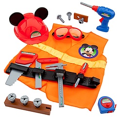 Mickey Mouse Construction Accessory Set
