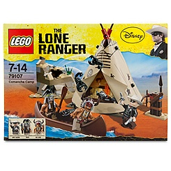 The Lone Ranger Comanche Camp Play Set by Lego