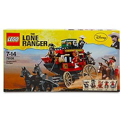 The Lone Ranger Stagecoach Escape Play Set by Lego
