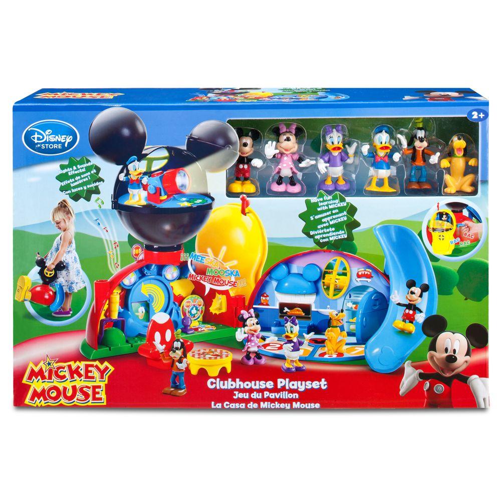 Casa Do Mickey Mouse Clubhouse Play Set Disney (Disney) A