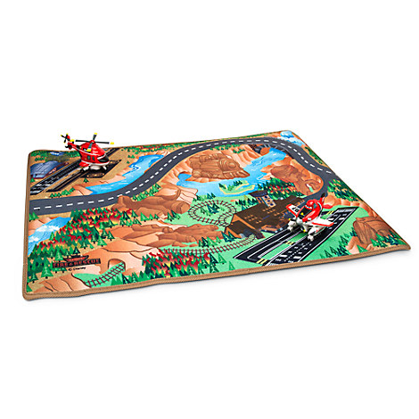 Planes Fire Amp Rescue Play Mat Amp Vehicles Play Set
