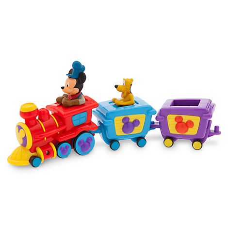 Authentic Disney Mickey Mouse Clubhouse Mickey Pluto Train