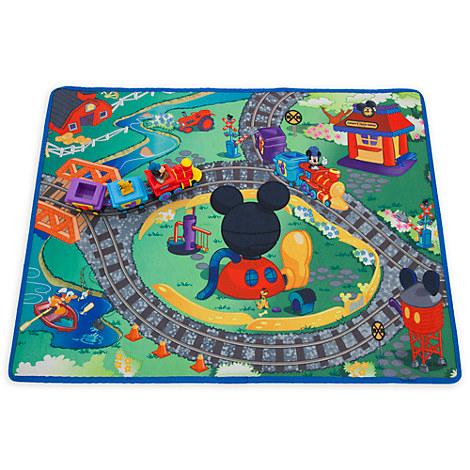 Disney Store Mickey Mouse Train Playmat Play Set Ebay