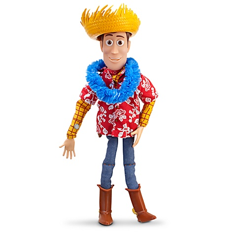 Hawaiian Vacation Talking Woody Action Figure -- 16'' H