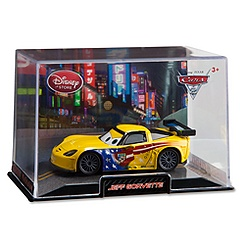 Jeff Gorvette Die Cast Car - Cars 2
