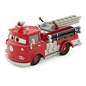 Red Die Cast Fire Engine - Cars 2