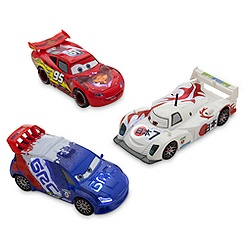 Cars Neon Light-Up Die Cast Set 1