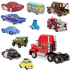 Cars Radiator Springs Deluxe Die Cast Set