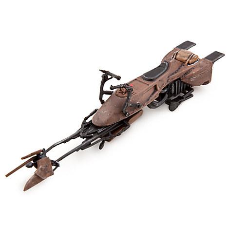 Star wars speeder bike die cast vehicle toys boys disney store