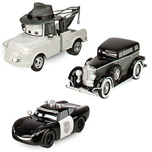 Cars Toon Mater Private Eye Die Cast Set -- 3-Pc.