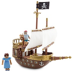 Peter Pan MiniMates Pirate Ship Play Set